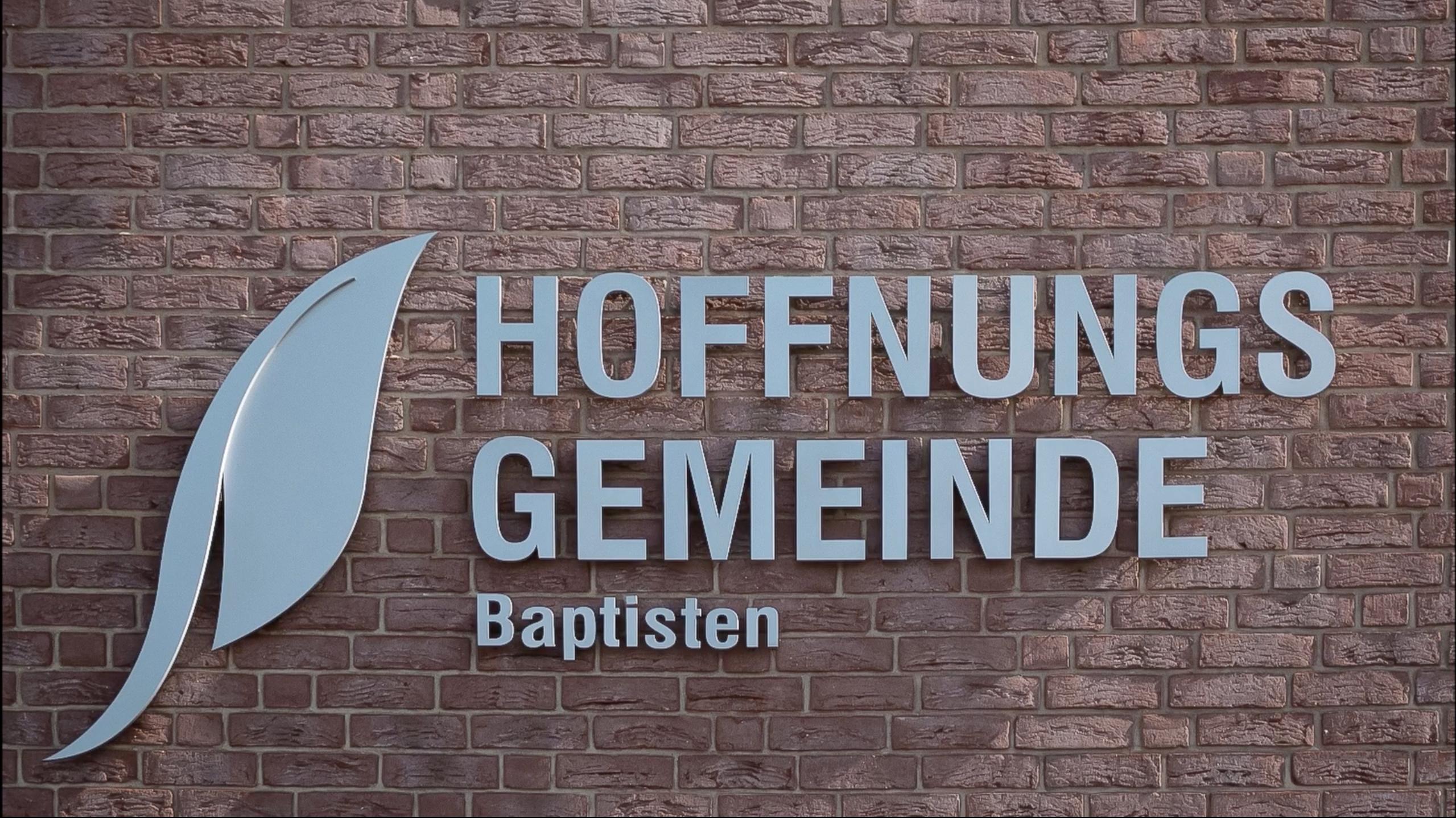 Gemeinde Schriftzug